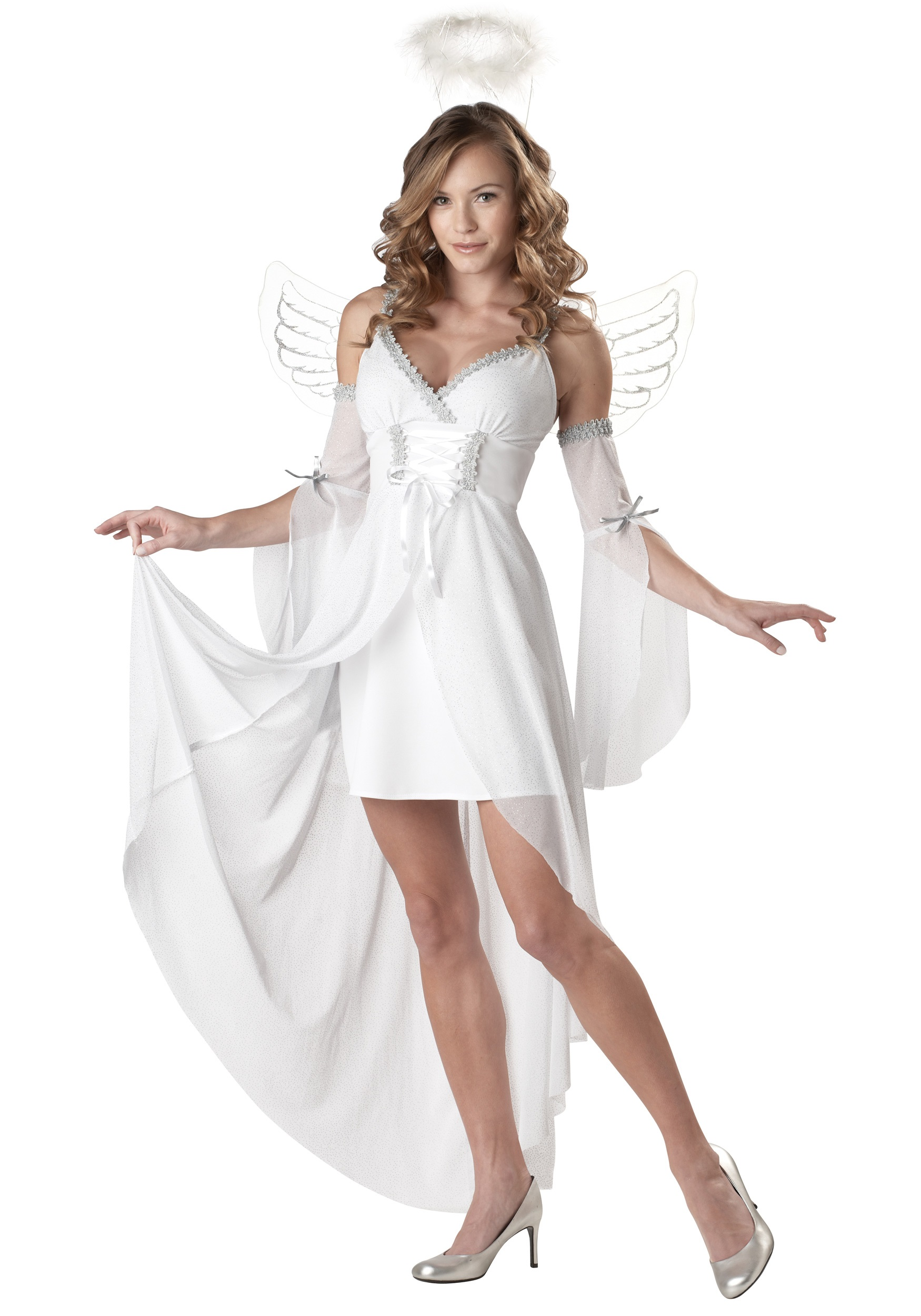 adult divine angel costume sexy angel halloween costumes. Black Bedroom Furniture Sets. Home Design Ideas