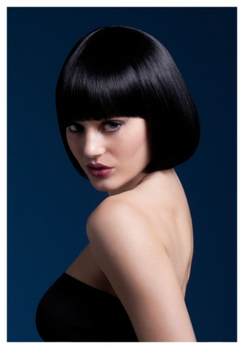 INOpets.com Anything for Pets Parents & Their Pets Styleable Fever Mia Black Wig
