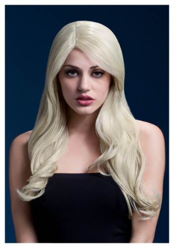 Styleable Fever Nicole Blonde Wig By: Smiffys for the 2015 Costume season.