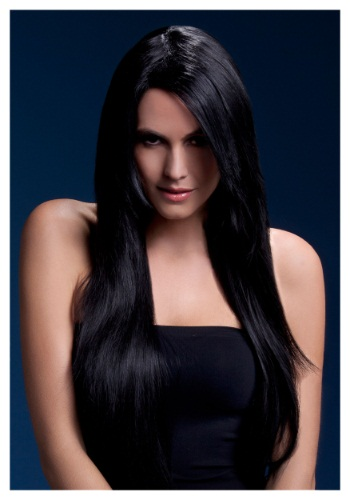 Styleable Fever Amber Black Wig