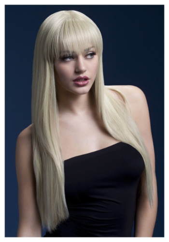 Click Here to buy Styleable Fever Jessica Blonde Wig from HalloweenCostumes, USA Funds & Shipping