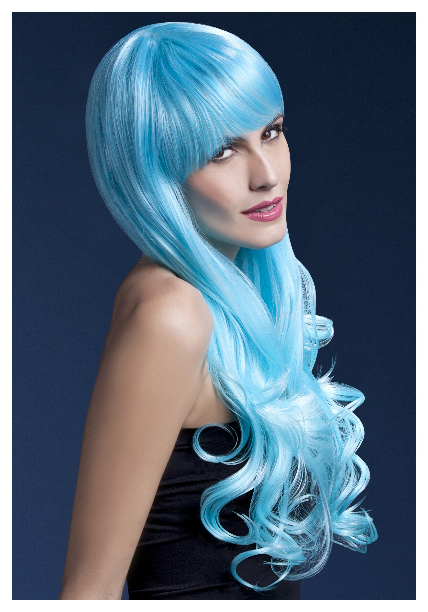 Styleable Fever Emily Blue Wig