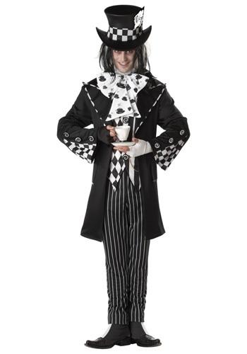 Men's Dark Mad Hatter Costume