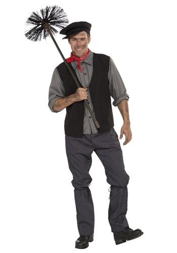 CHIMNEY SWEEP MEN'S COSTUME