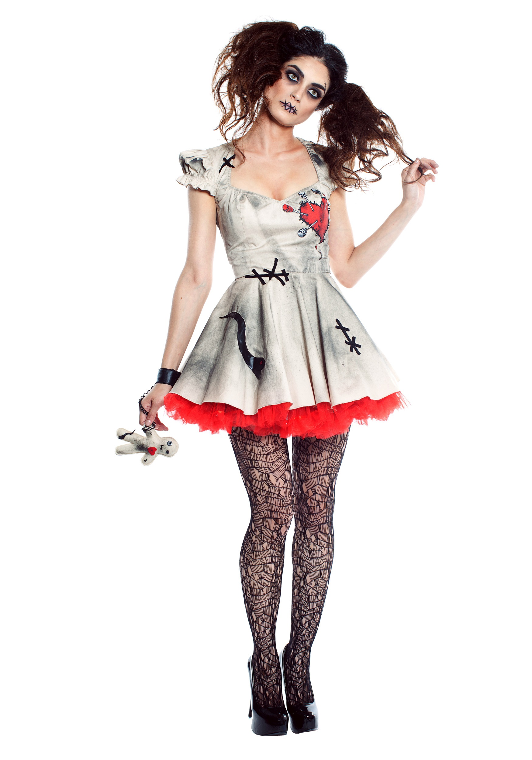 Womens Voodoo Doll Costume