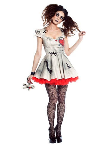 Womens Voodoo Doll Costume By: Seeing Red for the 2015 Costume season.