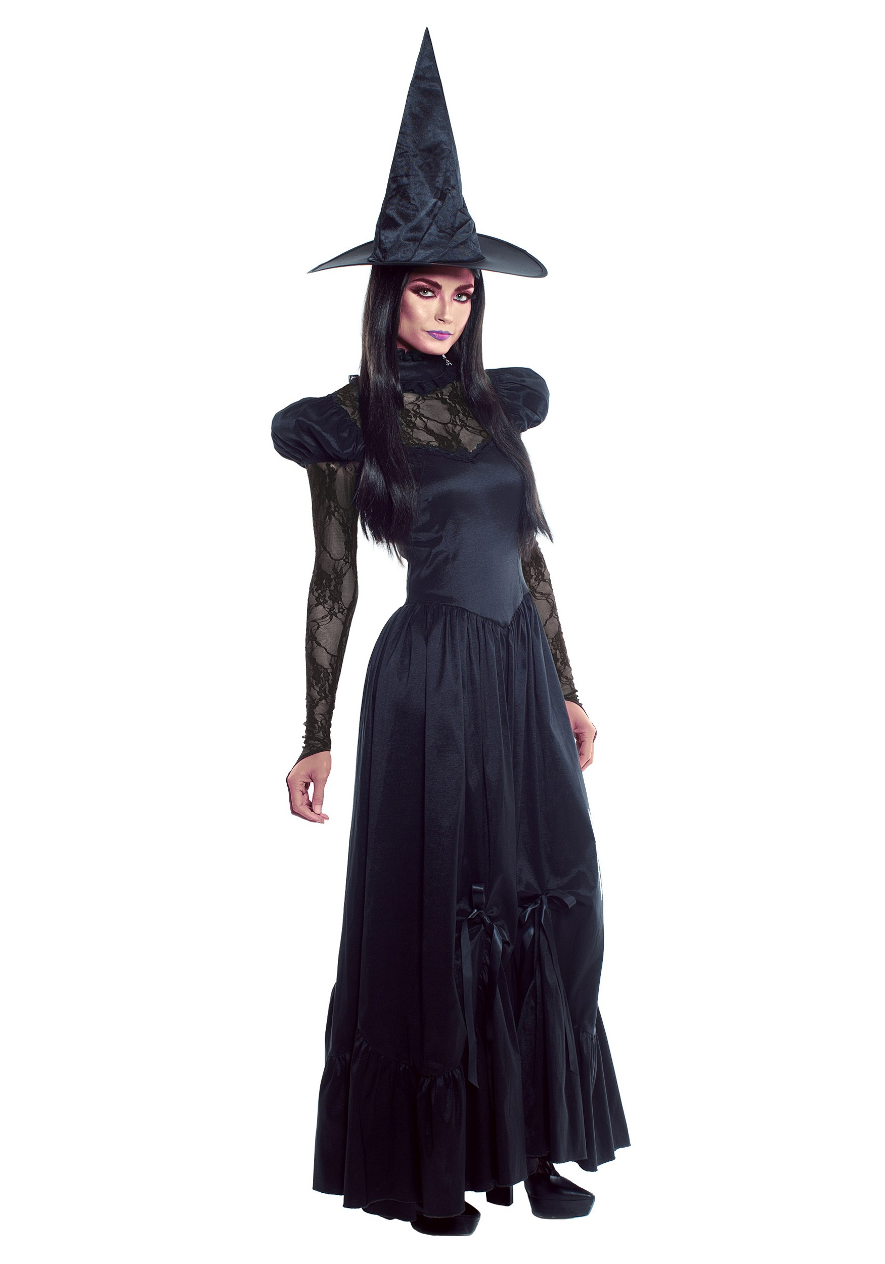 Women S Plus Size Emerald Witch Costume 2x