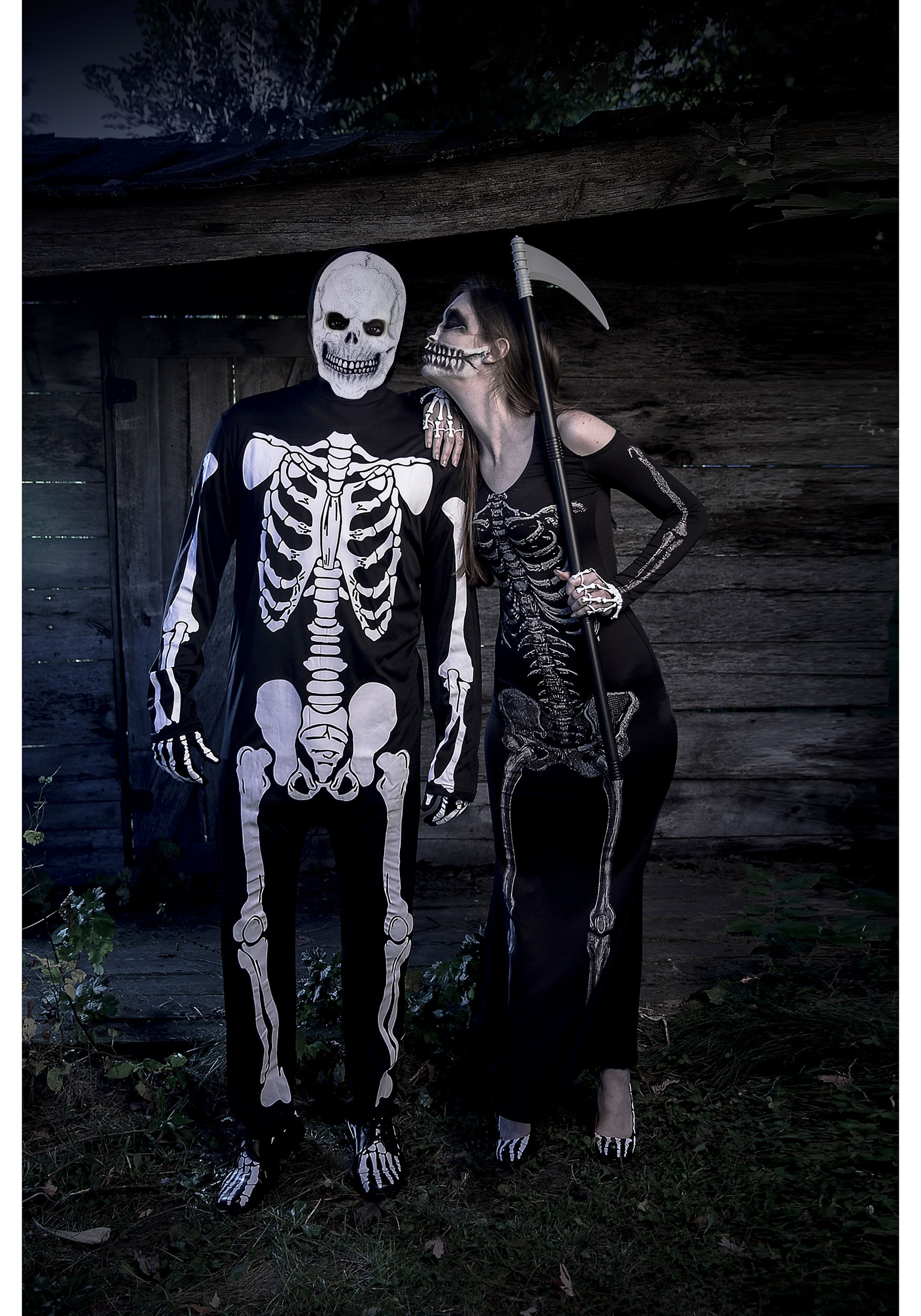Women S Bone Appetit Skeleton Long Dress Costume