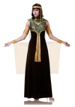 Adult Black and Teal Cleopatra Costume