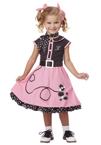 Toddler 50s Poodle Cutie Costume By: California Costume Collection for the 2015 Costume season.