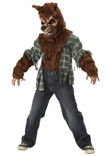Click Here to buy Kids Howling at the Moon Costume from HalloweenCostumes, CDN Funds