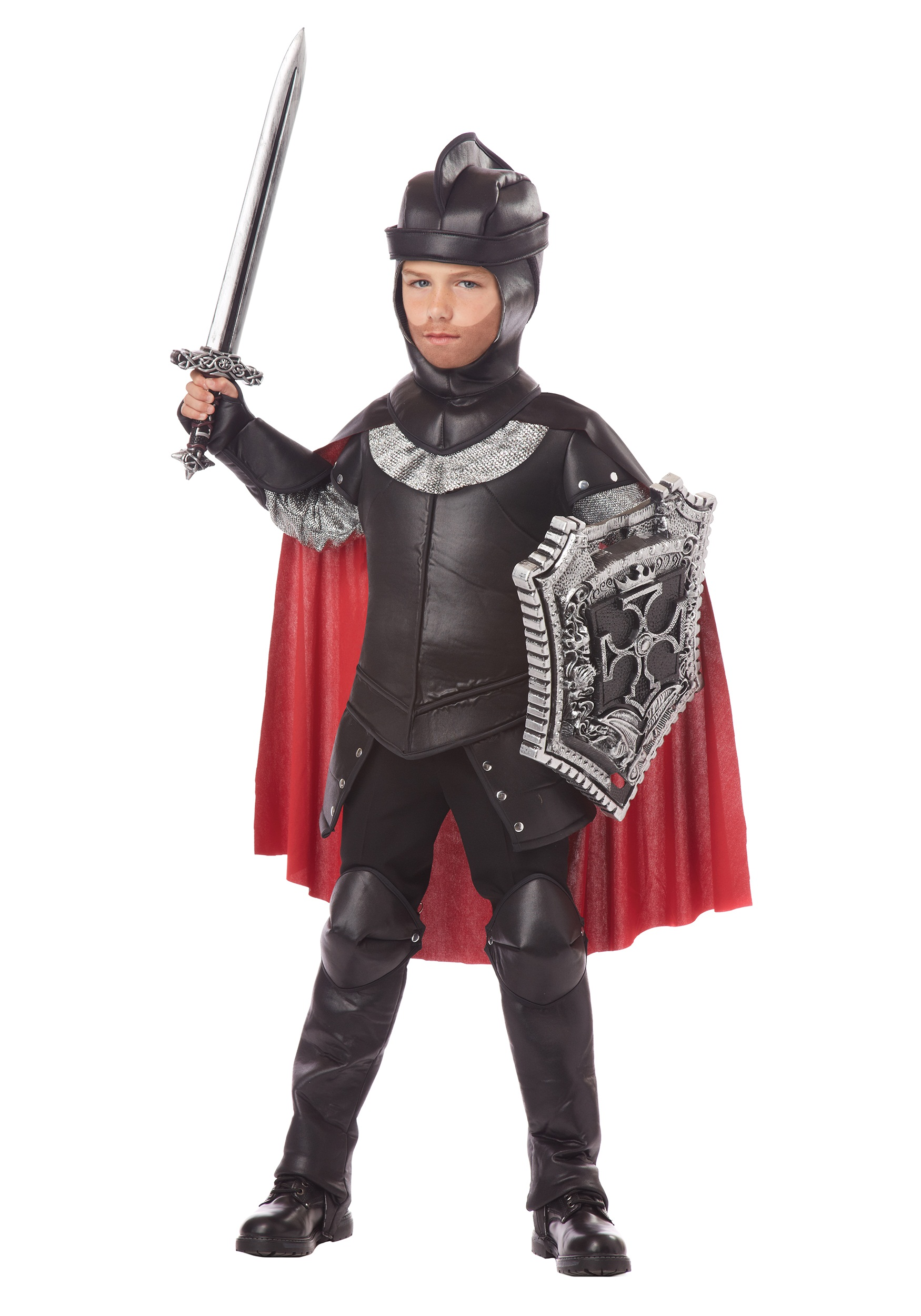 Boys The Black Knight Costume  sc 1 st  Halloween Costumes : kids armour costume  - Germanpascual.Com