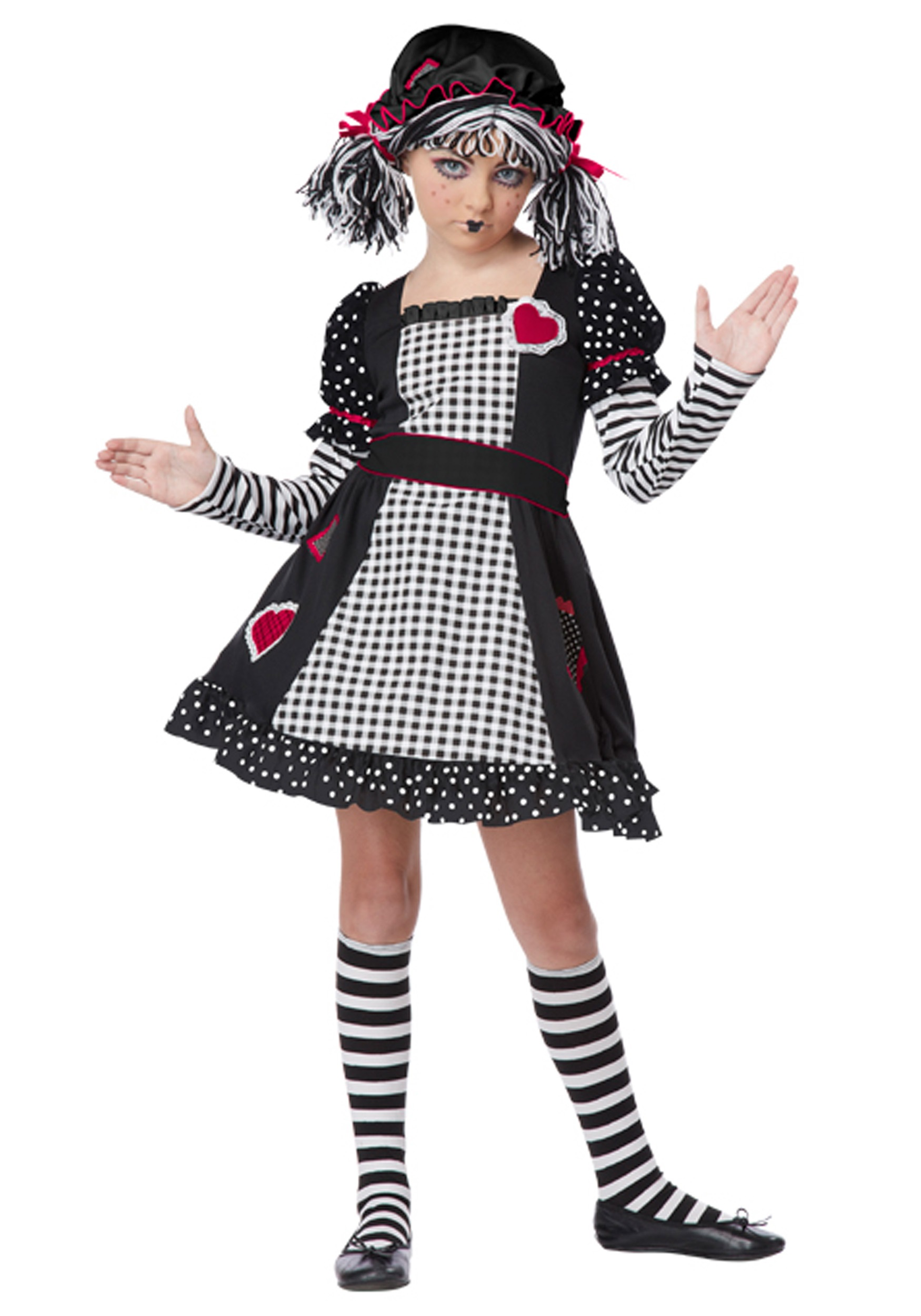 Scary Doll Costumes For Halloween Creepy Doll Costumes