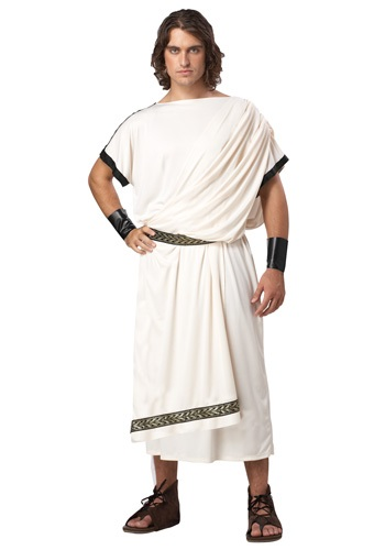 Deluxe Mens Toga Costume By: California Costume Collection for the 2015 Costume season.