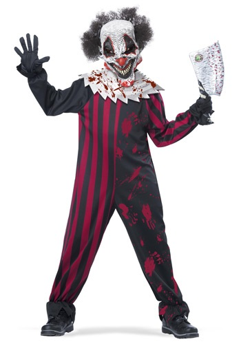 Click Here to buy Boys Killer Clown Costume from HalloweenCostumes, CDN Funds