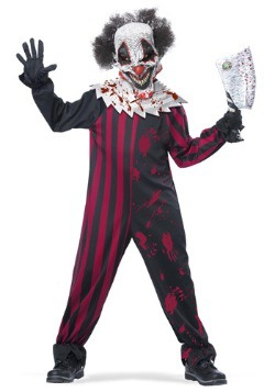 Boys Killer Clown Costume