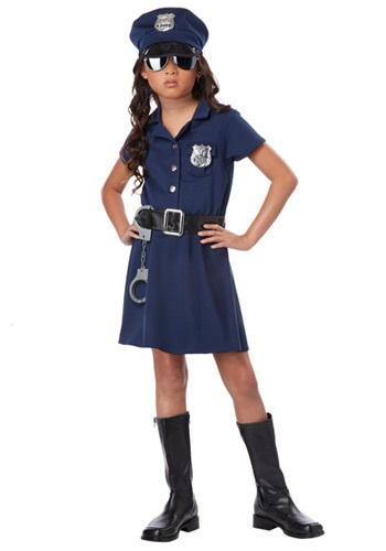 Girls Police Officer Costume By: California Costume Collection for the 2015 Costume season.