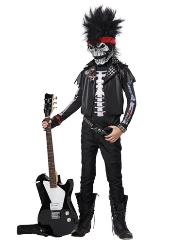 Boys' Dead Man Rockin' Costume