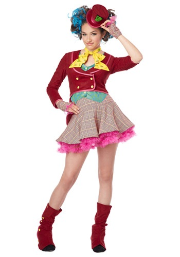 Click Here to buy Tween Mad as a Hatter Costume from HalloweenCostumes, USA Funds & Shipping