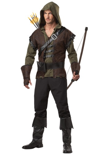 Click Here to buy Mens Realistic Robin Hood Costume from HalloweenCostumes, USA Funds & Shipping