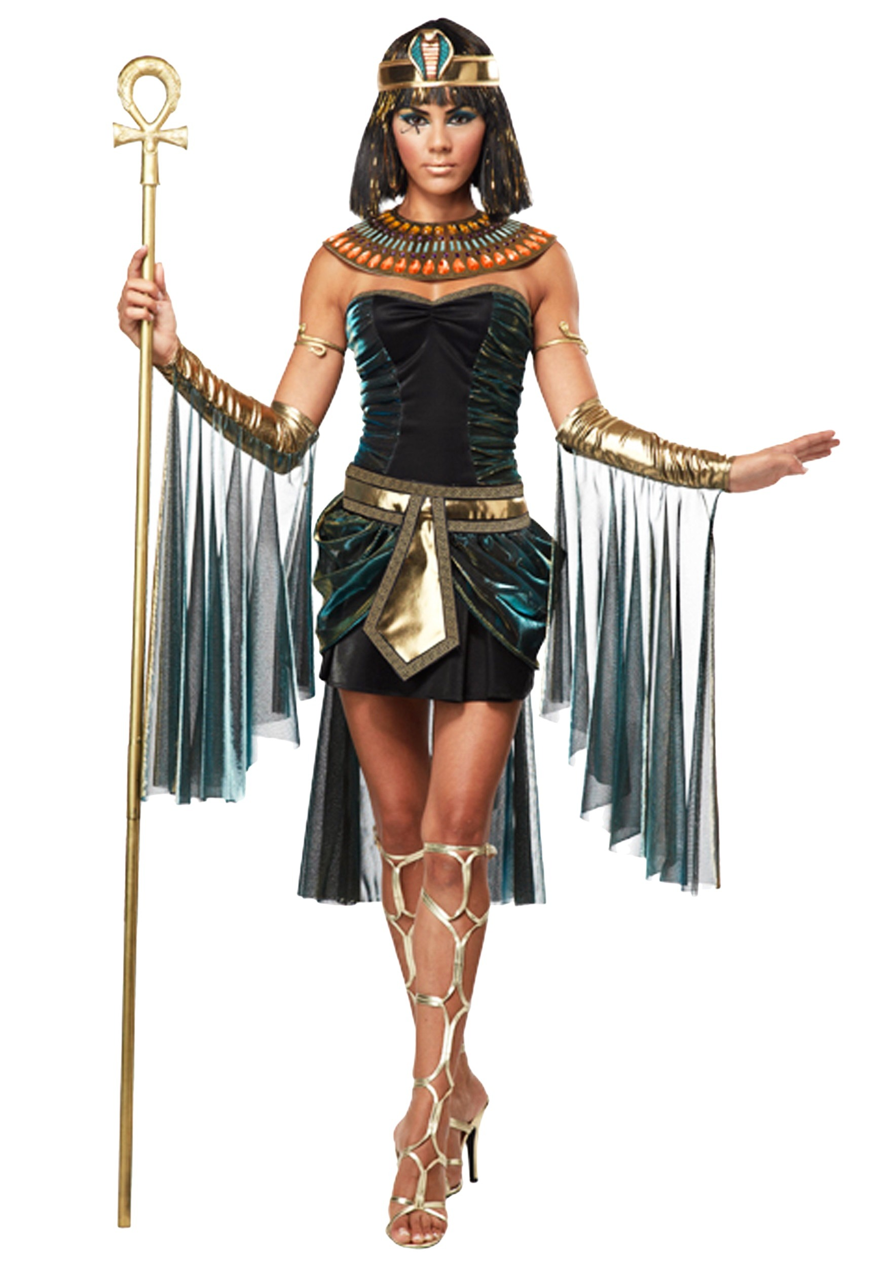 089bbd3a9dd Plus Size Egyptian Goddess Costume