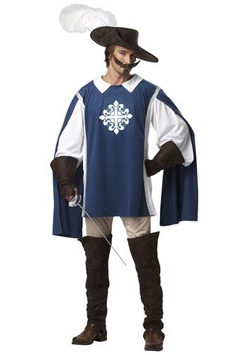 Brave Musketeer Costume for Men