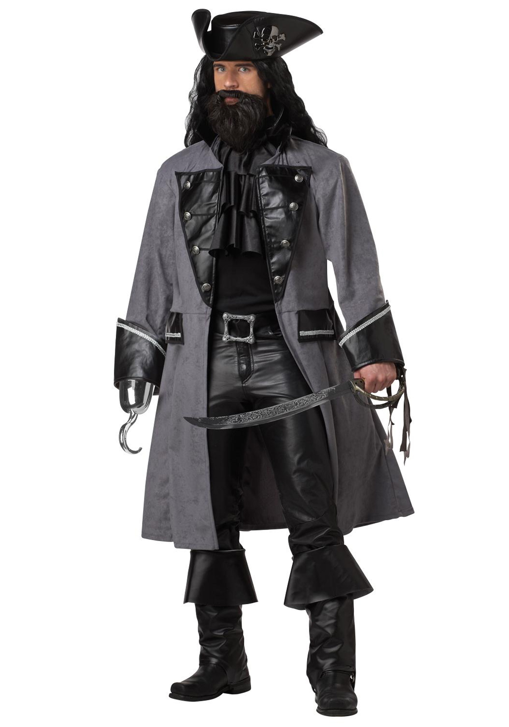 Mens Blackbeard Pirate Costume CA01131