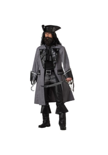 Click Here to buy Mens Blackbeard Pirate Costume from HalloweenCostumes, CDN Funds