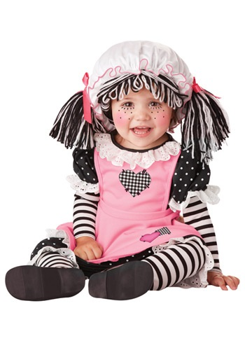 Click Here to buy Baby Rag Doll Costume from HalloweenCostumes, CDN Funds
