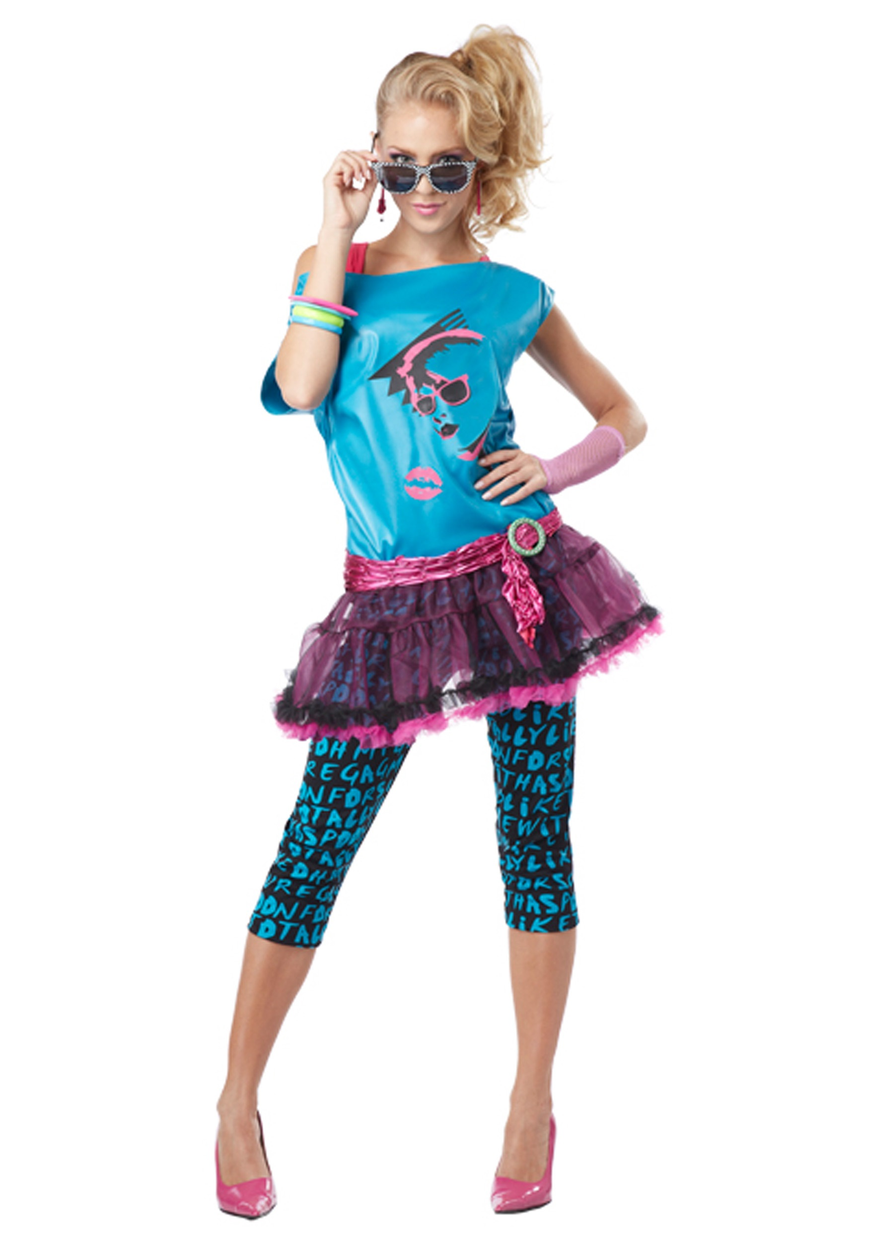 80's Fashion For Girls Pictures Adult Valley Girl Costume