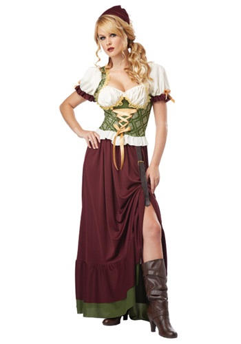 Click Here to buy Renaissance Wench Costume from HalloweenCostumes, CDN Funds