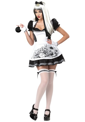 Click Here to buy Sexy Dark Alice Costume from HalloweenCostumes, USA Funds & Shipping