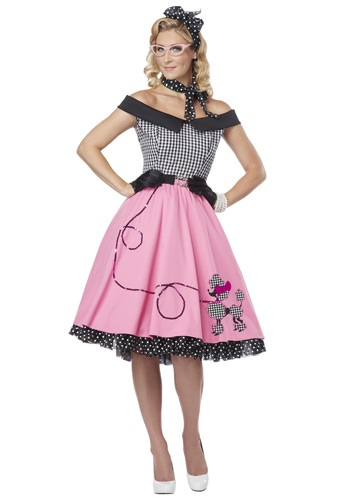 Click Here to buy Nifty 50s Costume from HalloweenCostumes, USA Funds & Shipping