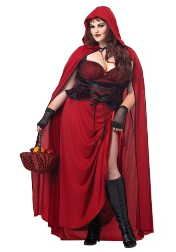 Plus Size Dark Red Riding Hood By: California Costume Collection for the 2015 Costume season.