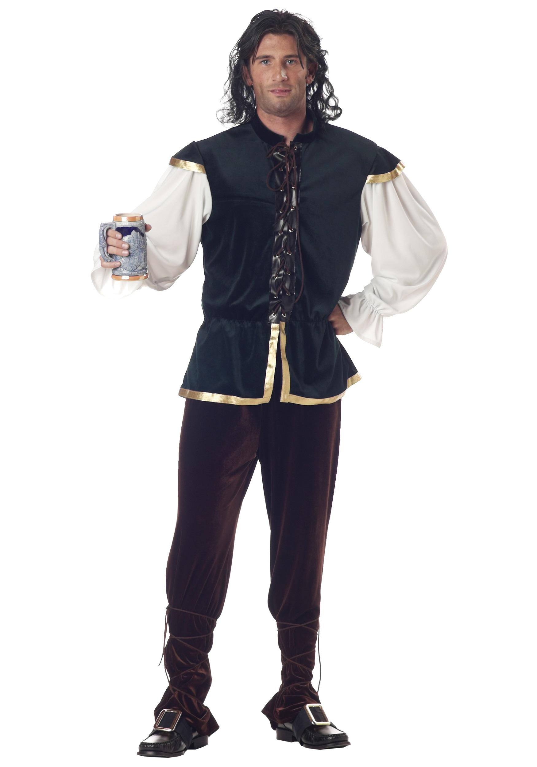 Tavern Man Costume  sc 1 st  Halloween Costumes & Renaissance Tavern Man Costume for Men