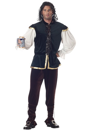 Click Here to buy Renaissance Tavern Man Mens Costume from HalloweenCostumes, CDN Funds