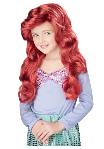 Lil Mermaid Wig By: California Costume Collection for the 2015 Costume season.