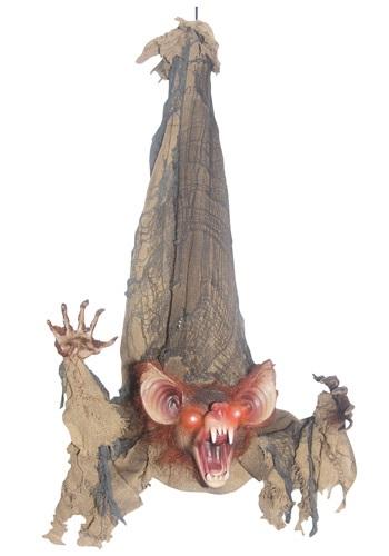 Animated Slashing Bat Halloween Decoration