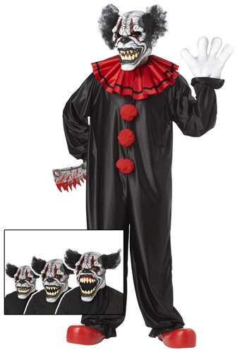Click Here to buy Last Laugh Clown Costume from HalloweenCostumes, CDN Funds