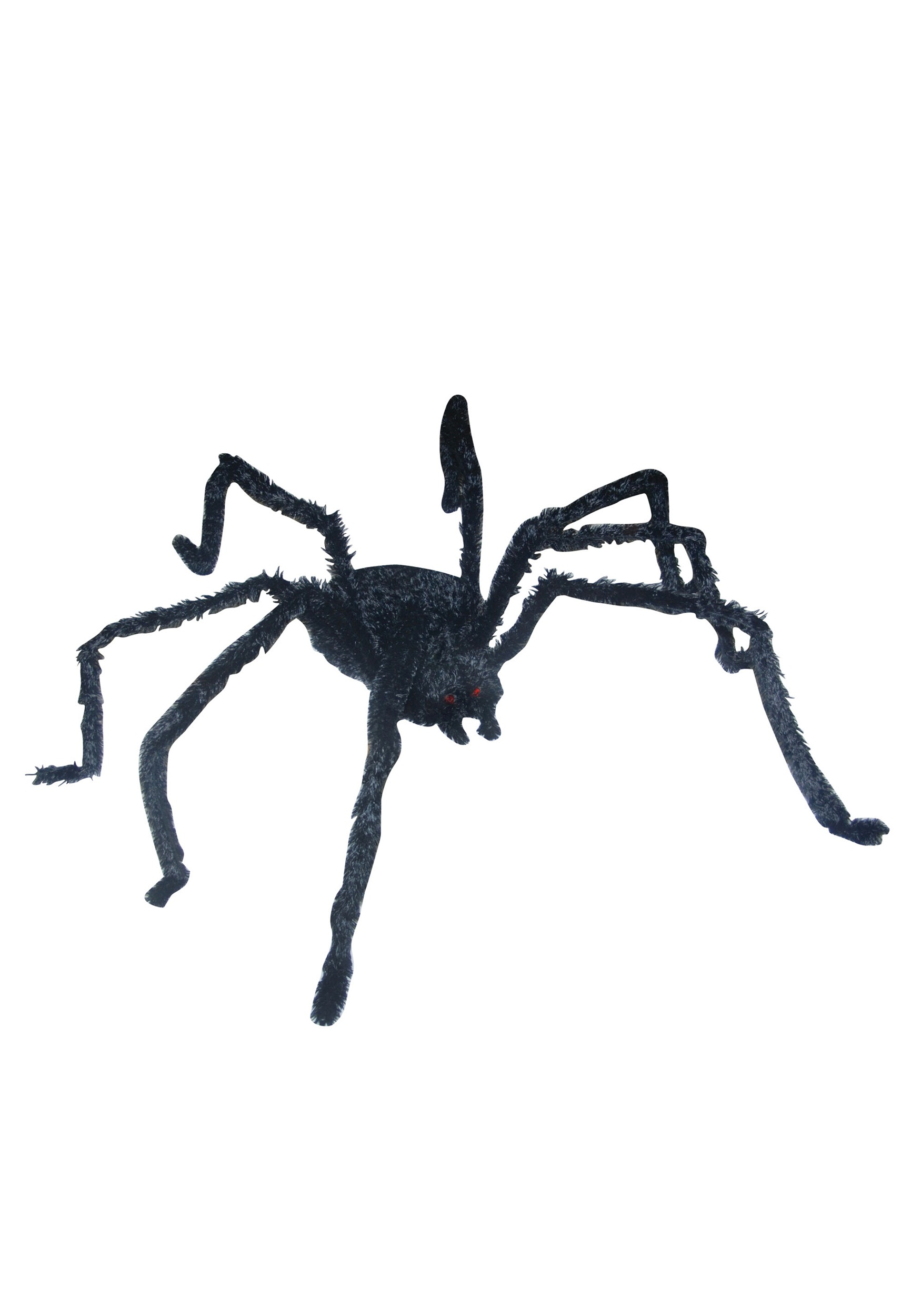 giant lightup long hairy spider - Halloween Spiders