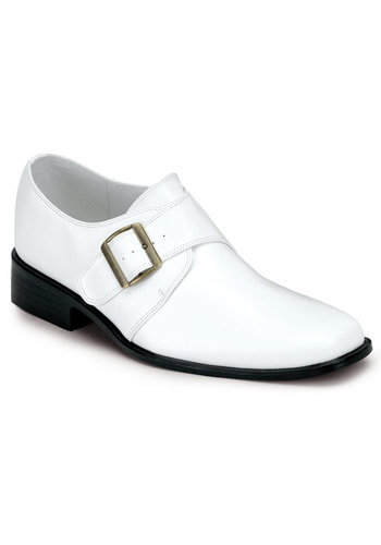 Mens White Disco Loafers