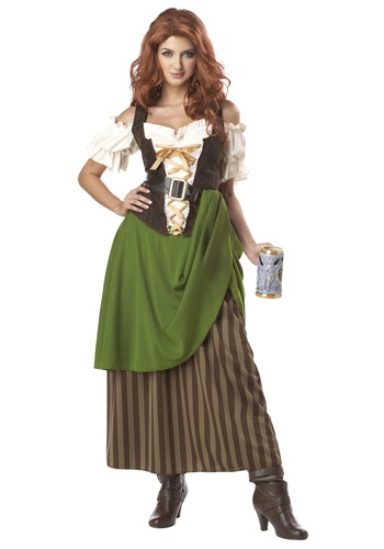 Click Here to buy Tavern Maiden Costume from HalloweenCostumes, USA Funds & Shipping