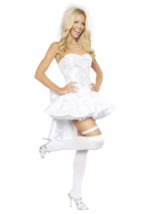 Womens Fantasy Bride Costume