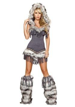 Womens Native American Temptress Costume