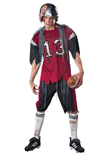 Click Here to buy Adult Dead Zone Zombie Costume from HalloweenCostumes, USA Funds & Shipping
