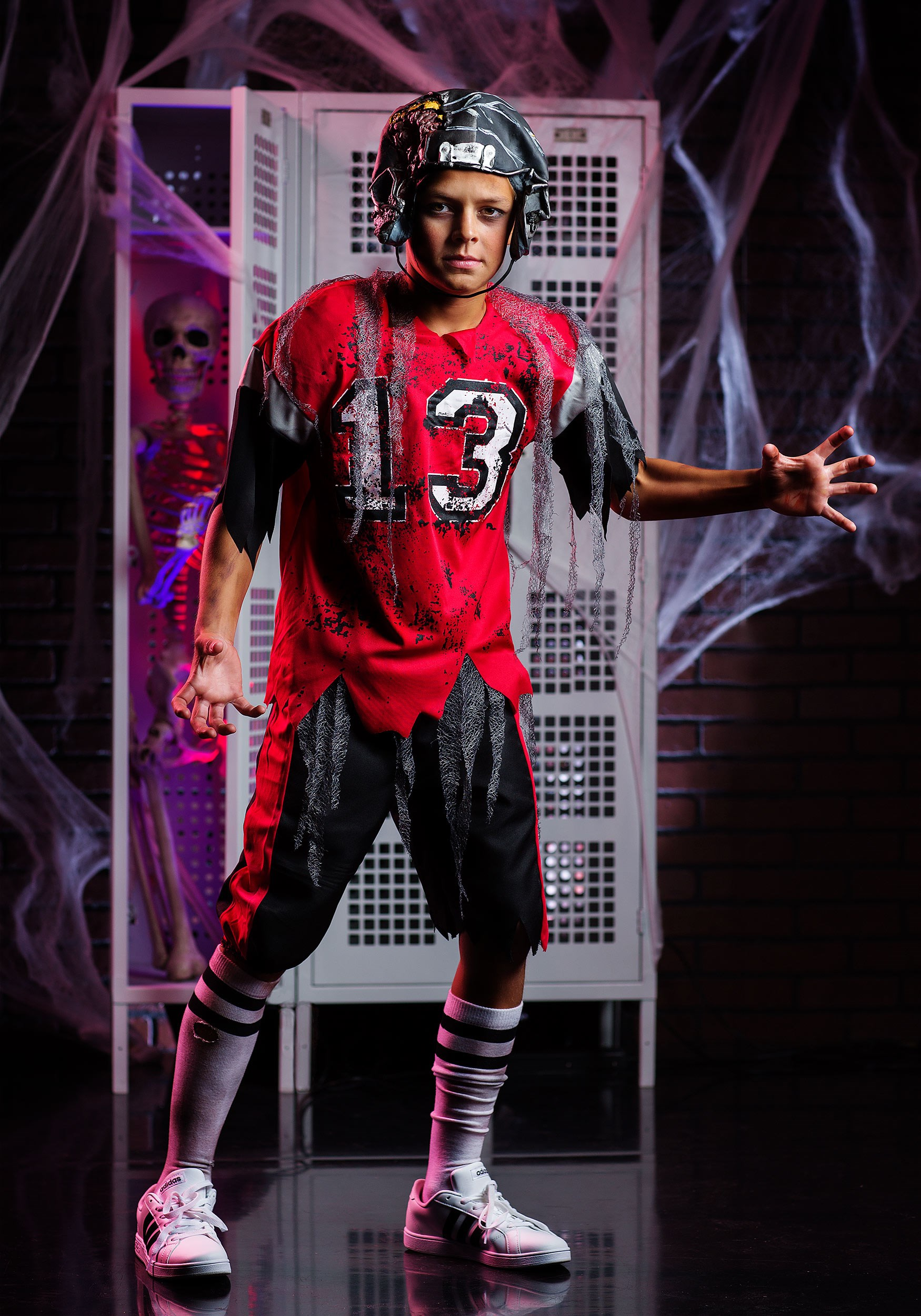 kids dead zone zombie costume - Halloween Costume Football