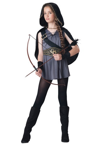Girls Hooded Huntress Costume By: In Character for the 2015 Costume season.