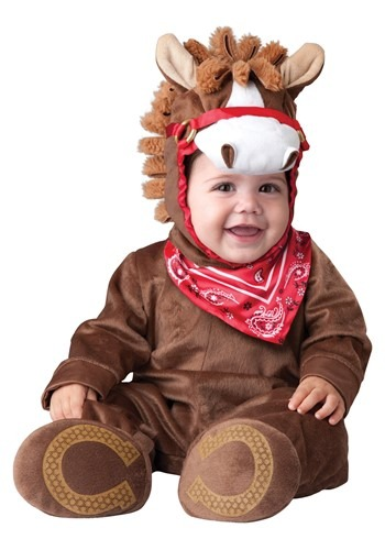 Click Here to buy Baby Playful Pony Costume from HalloweenCostumes, USA Funds & Shipping