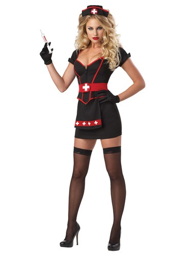 Click Here to buy Womens Cardiac Arrest Nurse Costume from HalloweenCostumes, USA Funds & Shipping
