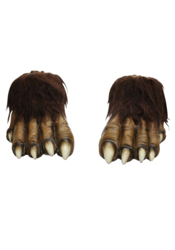 Adult Wolf Feet By: Ghoulish Productions for the 2015 Costume season.